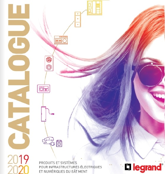 Couverture catalogue Legrand